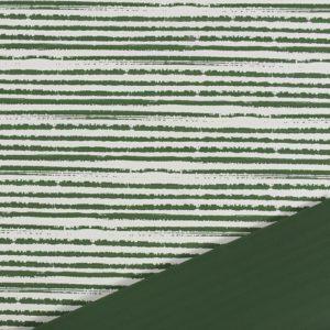 BOBINA PPL -LINEE- CM 100X25 MT VERDE BOSCO/BIANCO