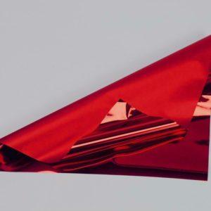 BOBINA PPL -BICOLOR METAL- CM 100X50 MT ROSSO LUCIDO/OPACO