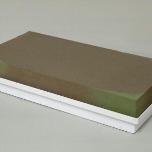 CIOTOLA PLAST. GARDEN4 C/SPUGNA 23X44 CM H.8 CM CONF.PZ.2 BIANCO