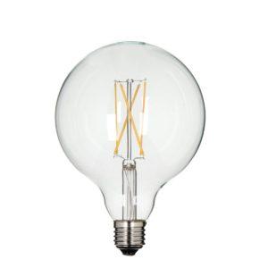 LAMPADINA SFERA LED FILAMENTO XL 4W(40W) 2200K E27 DM 12,5