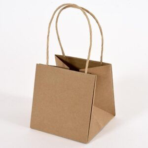 SHOPPERS CARTA 12X12X12CM CONF. PZ.12 NATURALE