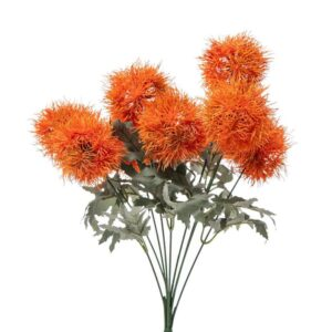 ALLIUM BOUQUET 9X CM.45ARANCIO
