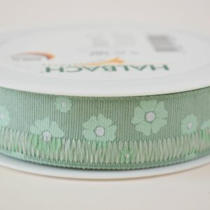 NASTRO ART.588 -FIORELLINI- 25MM 18MT MENTA