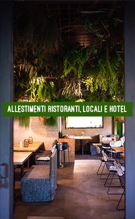 Allestimenti Ristoranti, Locali e Hotel