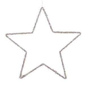 STELLA LUREX D.40 CM CHAMPAGNE
